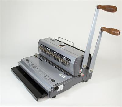 WIRE MAC 3:1 encuadernadora de doble alambre