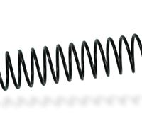 Imagen Espiral metálico Negro - Paso 5mm - Ø12mm - 200 uds
