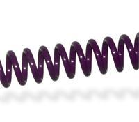 Imagen Espiral plástico Violet - Paso 6,35mm - Ø6mm - 30 uds