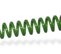 Imagen Espiral Plástico Apple Green - Paso 6,35mm - Ø6mm - 30 uds