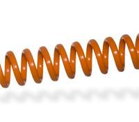 Imagen Espiral plástico College Orange - Paso 6,35mm - Ø6mm - 30 uds
